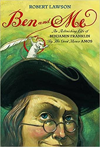 <em>Ben and Me</em> by Roland Smith Reading Comprehension Worksheets