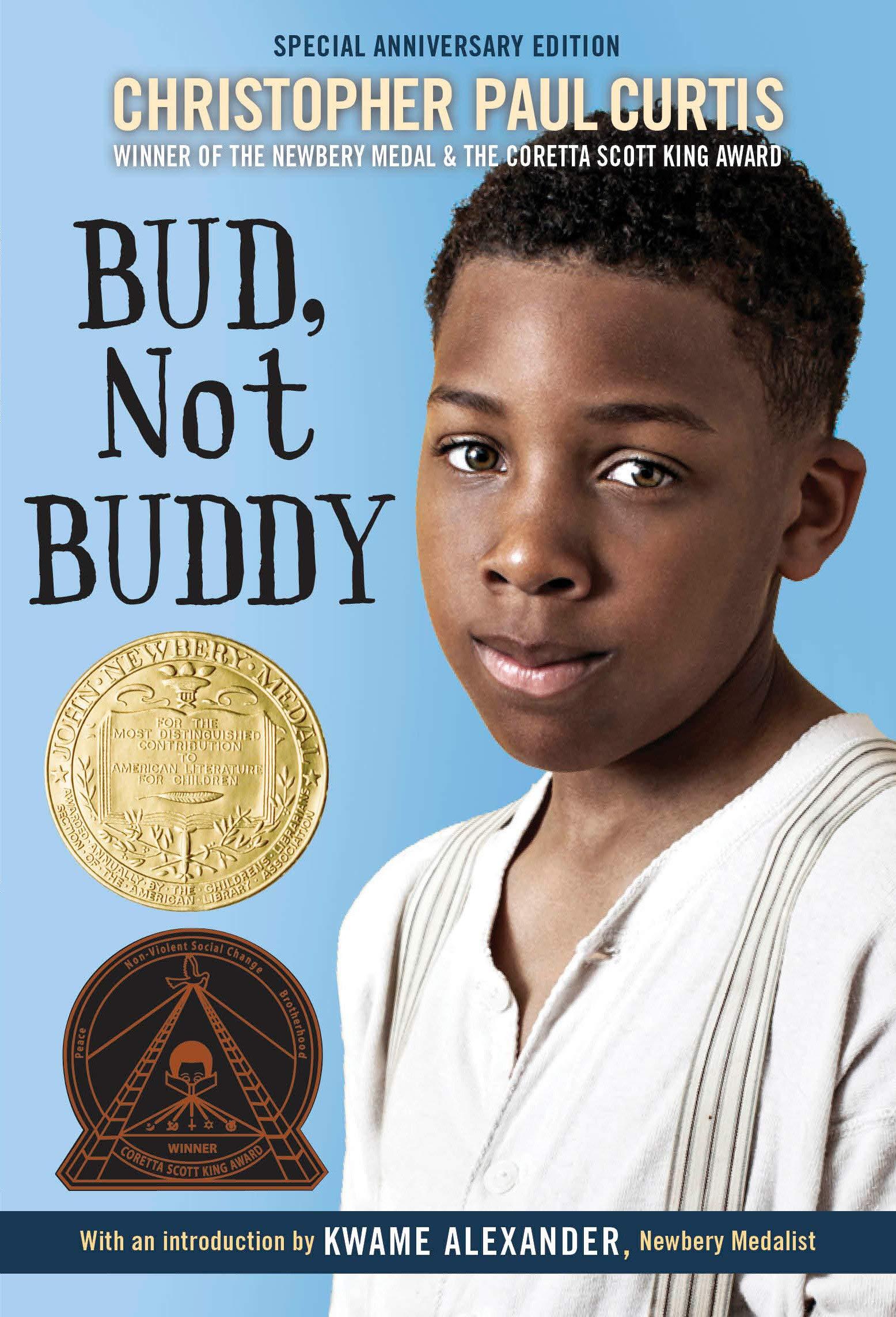 <em>Bud, Not Buddy </em> by Christopher Paul Curtis Reading Comprehension Worksheets